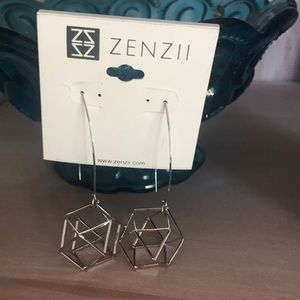 Zenzii Anthropologie Earrings NEW